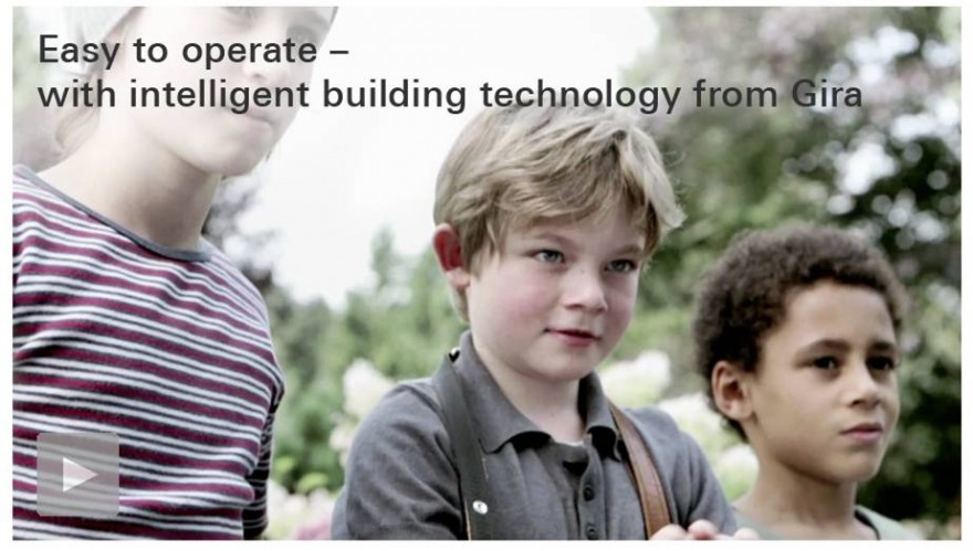 easy to operate - with intelligent building technology